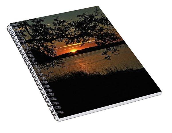 Roanoke Island Sunset Spiral Notebook