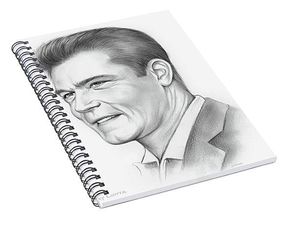 Ray Liotta Spiral Notebook