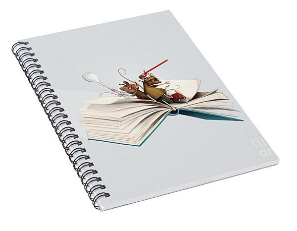 Reading Is An Adventure Spiral Notebook