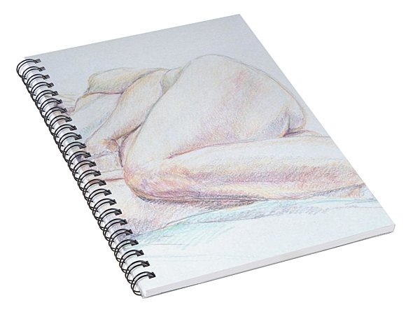 Reclining Study 2 Spiral Notebook