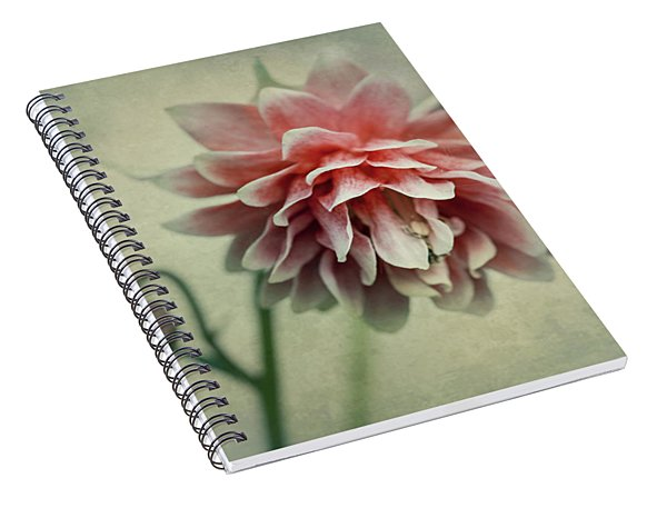 Red And Pink Columbine Spiral Notebook