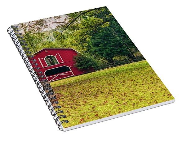 Red Barn 2 Spiral Notebook