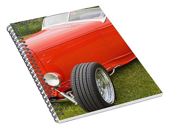 Red Hot Rod Spiral Notebook
