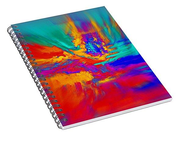 Red Movement Spiral Notebook