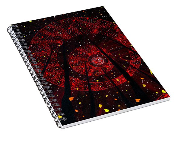 Red October Spiral Notebook