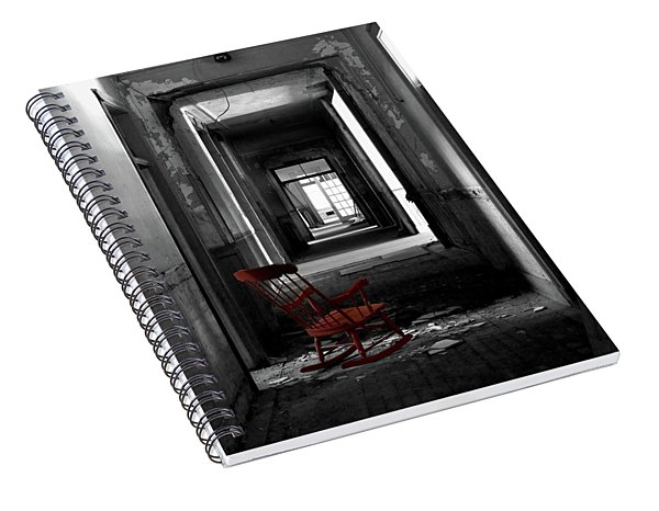Red Rocker - Preston Castle Spiral Notebook