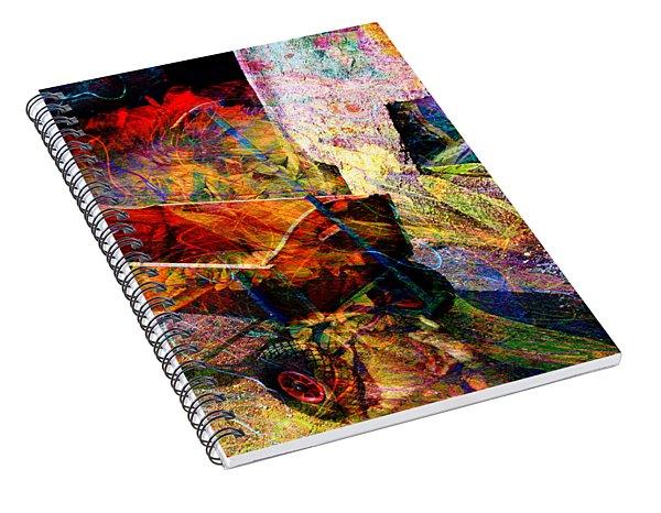 Red Wagon Spiral Notebook