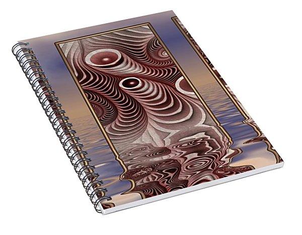 The Broken Fractal Spiral Notebook