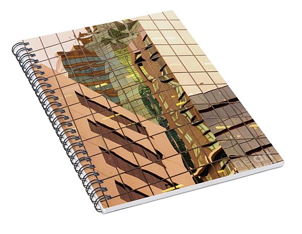 Reflecting Eagle 4 Spiral Notebook