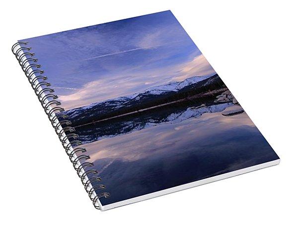 Reflection In Winter Spiral Notebook