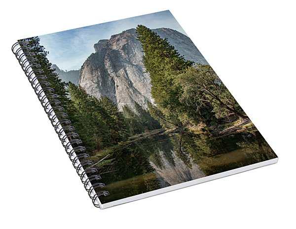 Reflections Of El Capitan Spiral Notebook