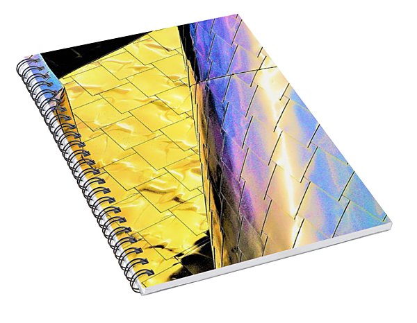 Reflections On Peter B. Lewis Building, Cleveland2 Spiral Notebook