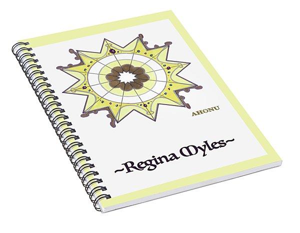 Regina Soul Portrait Spiral Notebook