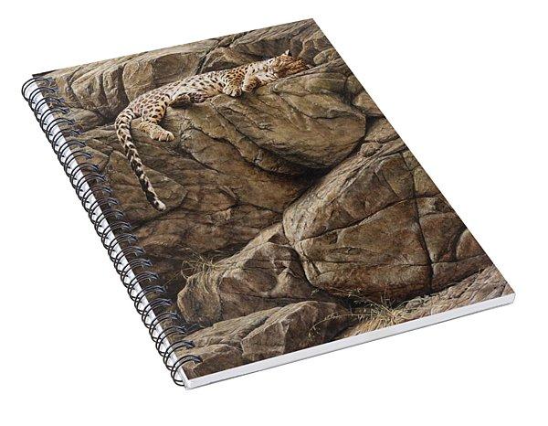 Resting In Comfort Spiral Notebook