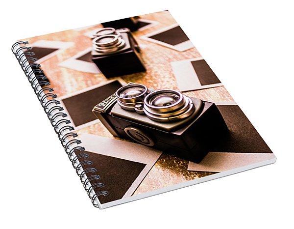 Retro Photographic Scene Spiral Notebook