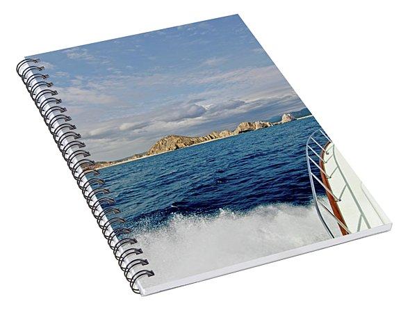 Returning To Port Spiral Notebook