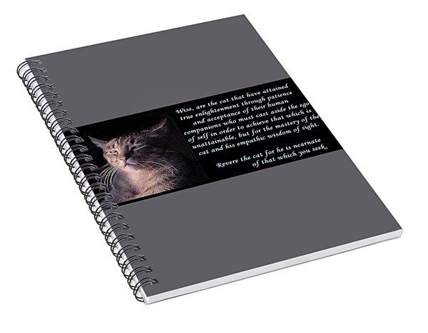 Revere Cat Spiral Notebook