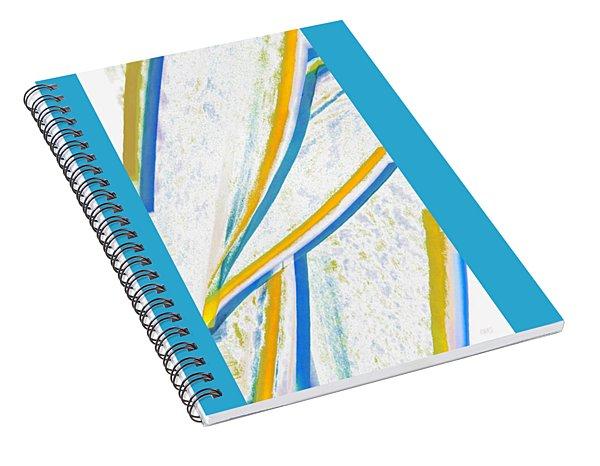Rhapsody In Leaves No 1 Spiral Notebook