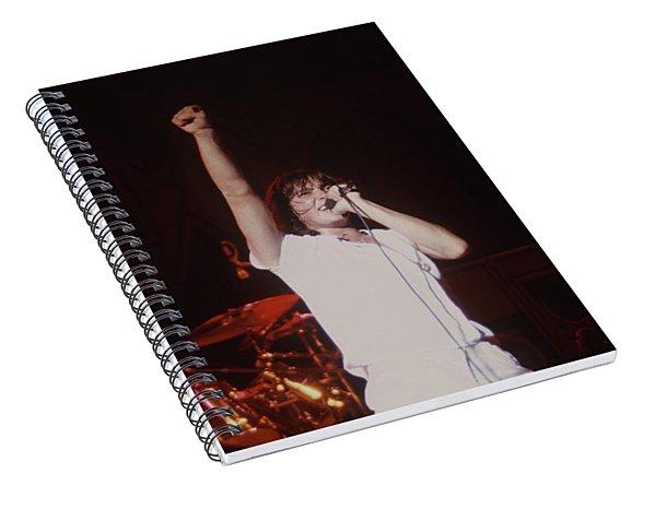 Rick Allen And Joe Elliott Spiral Notebook