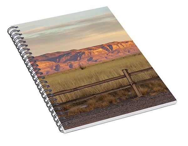 Ridge Outside Alamogordo Spiral Notebook