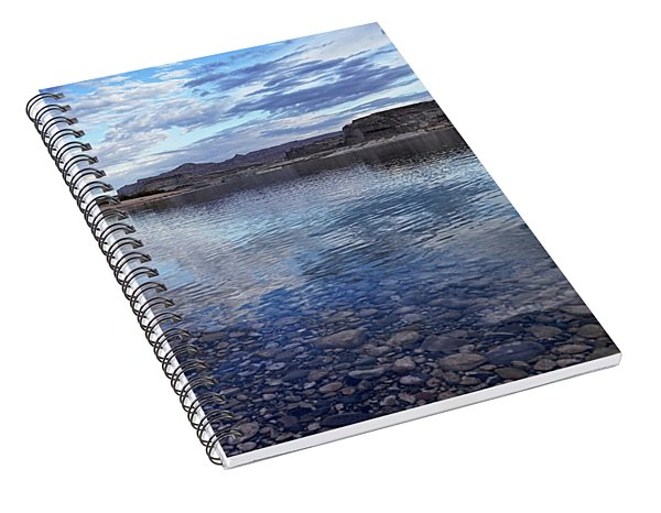 Ripples And Reflections Spiral Notebook