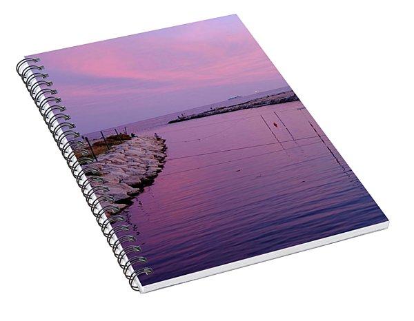 River Meets Sea Spiral Notebook