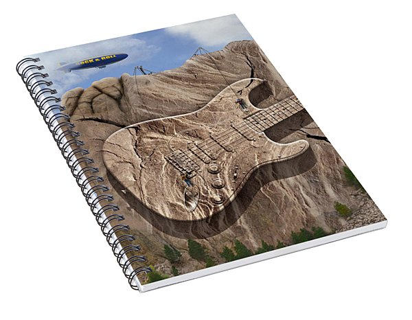 Rock And Roll Park 2 Spiral Notebook