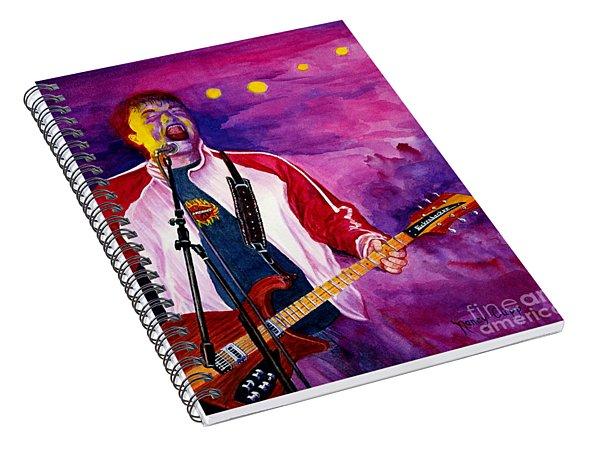 Rock On Tom Spiral Notebook