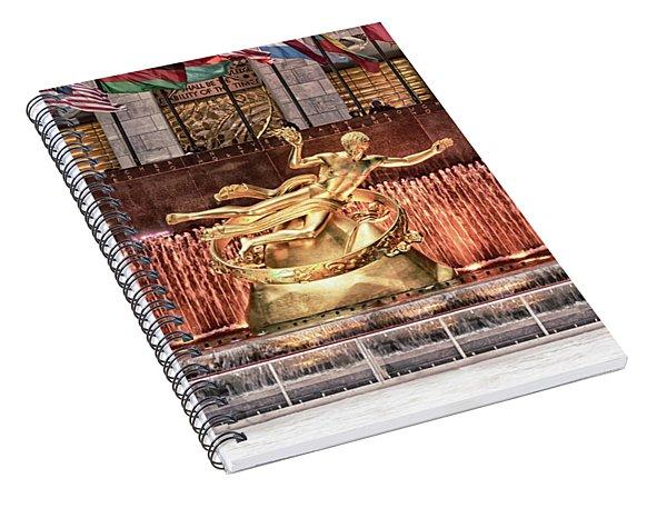 Rockefeller Center Spiral Notebook