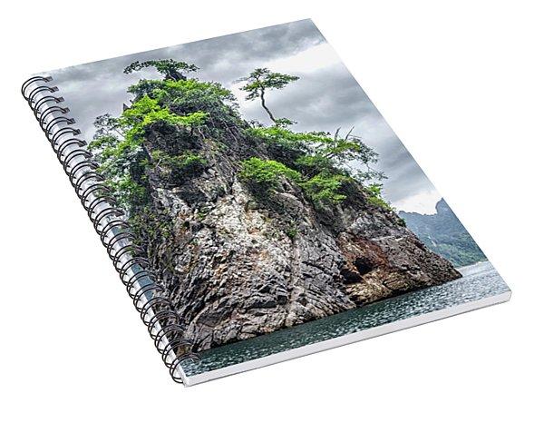 Rocks At Khao Sok Spiral Notebook