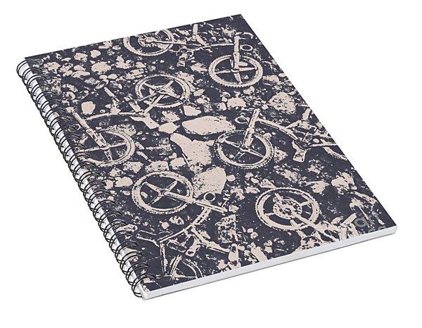Rocky Mountain Bike Trail Spiral Notebook