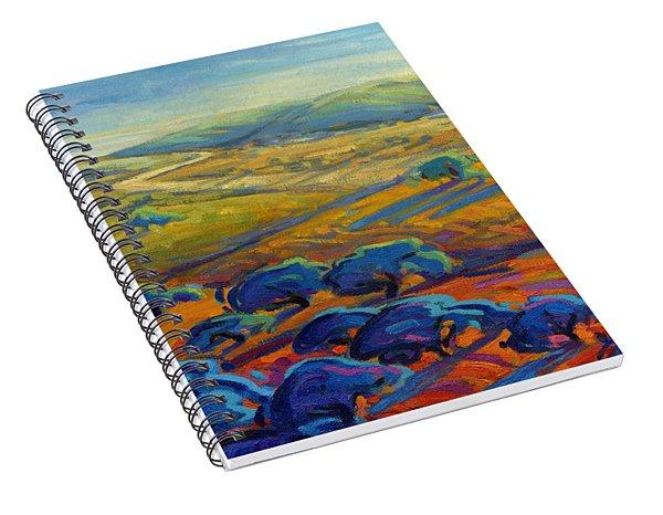 Rolling Hills 3 Spiral Notebook