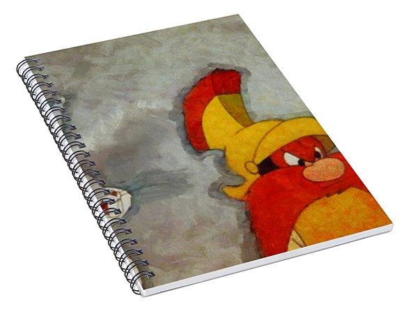 Roman Legion Hare Spiral Notebook