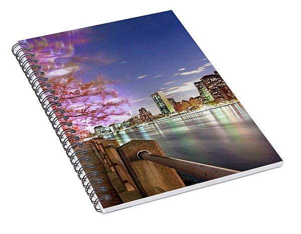 Romantic Blooms Spiral Notebook