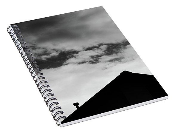 Roof #2882 Spiral Notebook