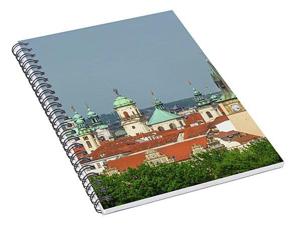 Rooftops Spiral Notebook
