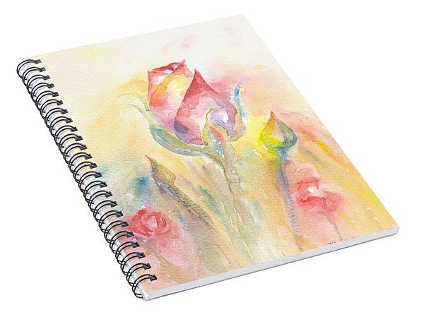 Rose Garden Two Spiral Notebook