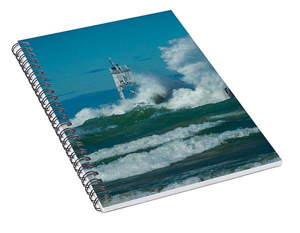 Rough Seas  Spiral Notebook