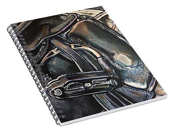 Saddle Study Spiral Notebook