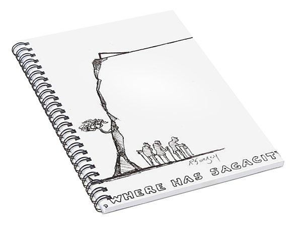 Sagacity Spiral Notebook