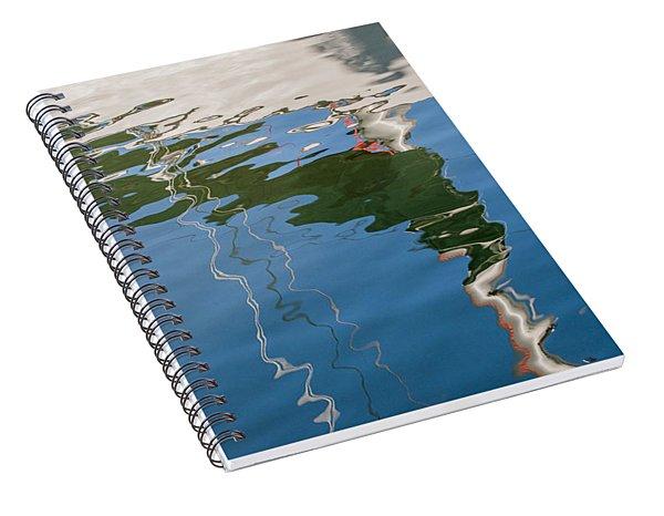 Sailboat Reflection Spiral Notebook