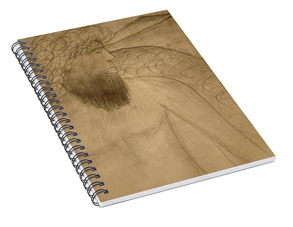 Saint Michael The Archangel Spiral Notebook