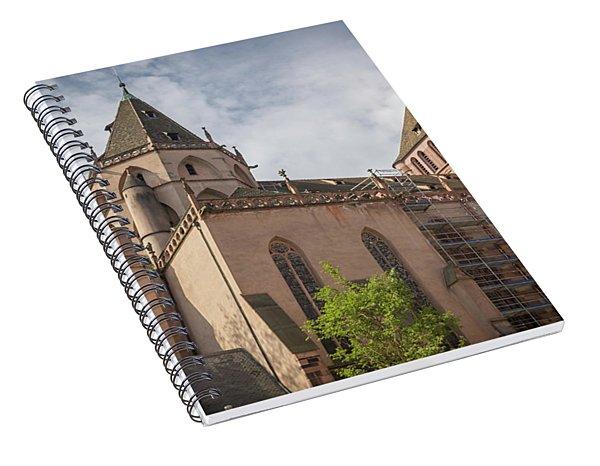 Saint Thomas Church Strasbourg France Spiral Notebook