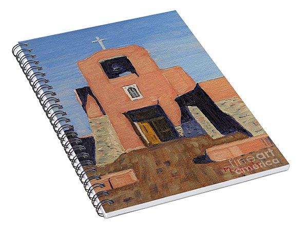San Miguel Mission In Santa Fe Spiral Notebook