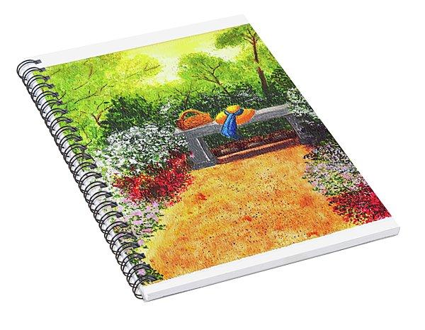 Sanctuary Spiral Notebook