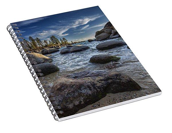 Sand Harbor II Spiral Notebook