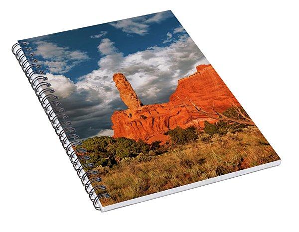 Sandpipe Formations Kodachrome Basin State Park Utah Spiral Notebook