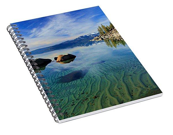 Sands Of Time 2 Spiral Notebook