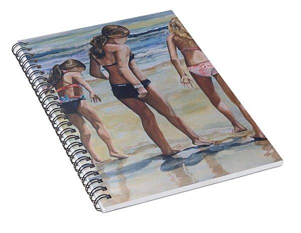 Santa Cruz Memories Spiral Notebook