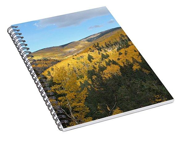 Santa Fe Autumn View Spiral Notebook